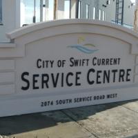 City Service Centre monument sign