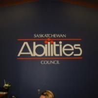 Vinyl wall graphics Saskatchewan Abilities Council