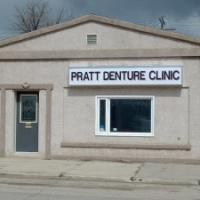 Internally lit sign for Pratt Denture Clinic