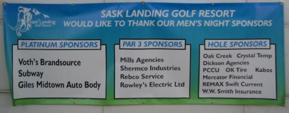 Banner for Sask Landing Golf Resort