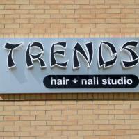 Backlit channel letters for Trends