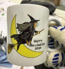 We print mugs!